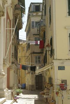 Corfou - la vieille ville