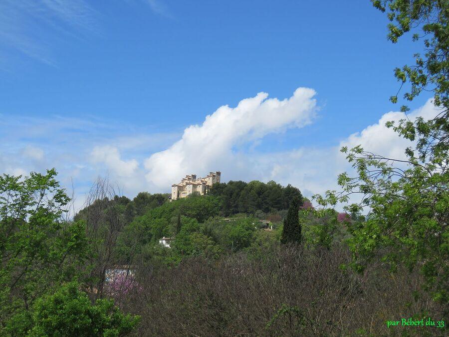 le château de Tourrettes dans le Var
