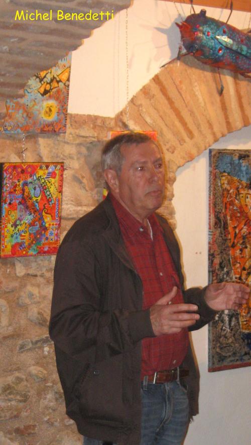 Michel Benedetti aux Cimaises éphémères avril 2014