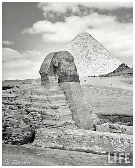 Secrets sous la grande pyramide