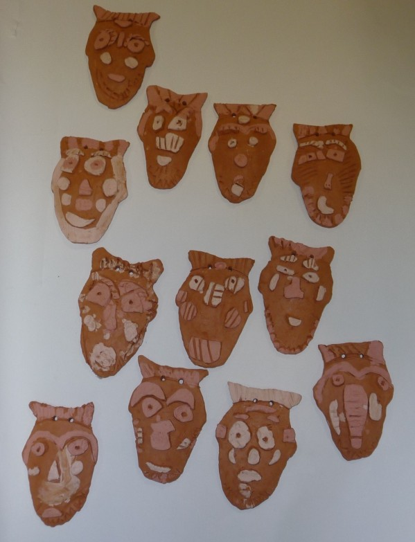 masque africain terre maternelle