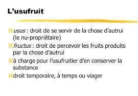 """Résultat de recherche d'images pour """"usufruit"""""""