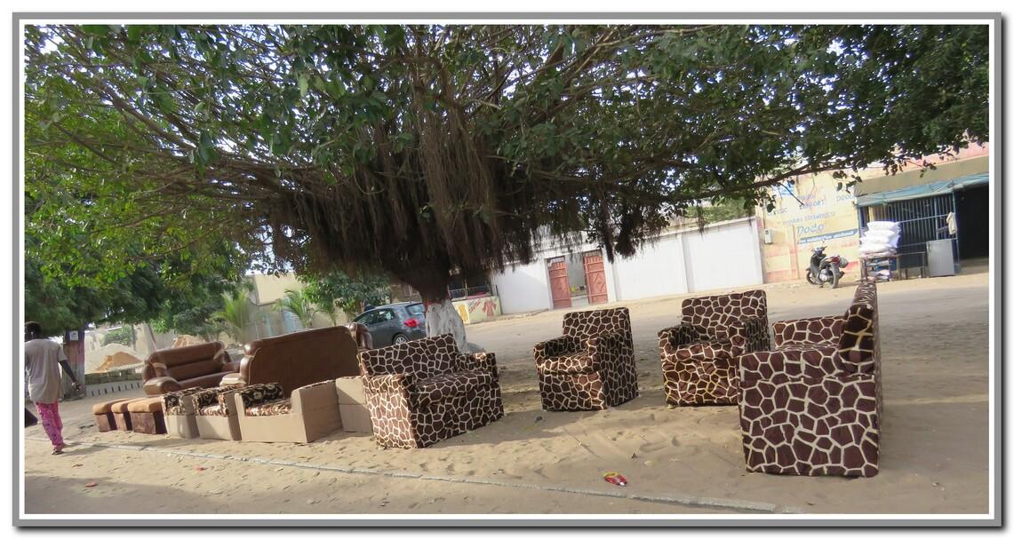 Un petit tour au marchés Sénégalais