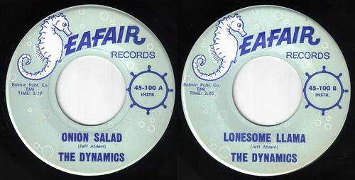 THE DYNAMICS - SEATTLE BAND