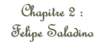 Chapitre 2 : Felipe Saladino