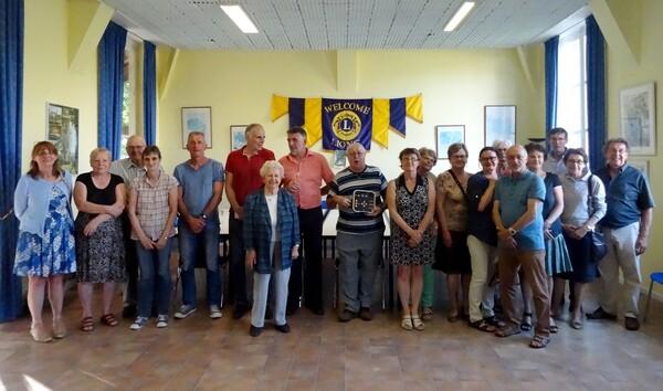 Le Lions Club a été très généreux avec de nombreuses associations