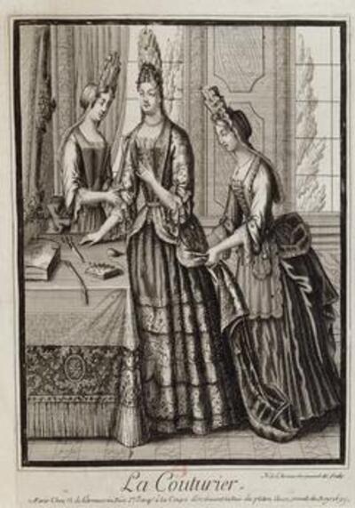 Costumes grotesques et métiers de Nicolas II de Larmessin I