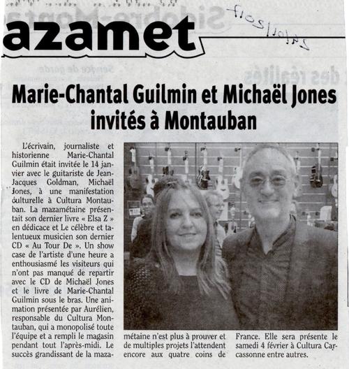 Actualités Marie-Chantal