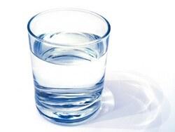 La technique du verre d'eau