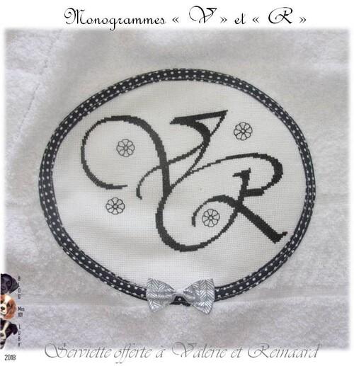 Lettres monogrammes