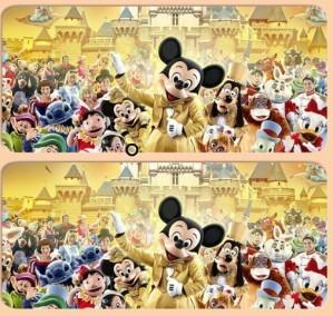 Spot 6 diff - Mickey