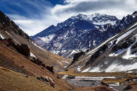 plus belles montagnes aconcagua