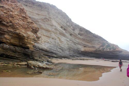 Que de belles falaises
