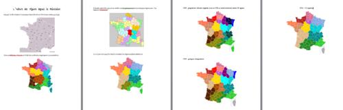 Les nouvelles régions 2016