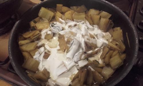 Blettes : 2 recettes pour le prix d'une...Quiche et côtes au curry {Vegen}