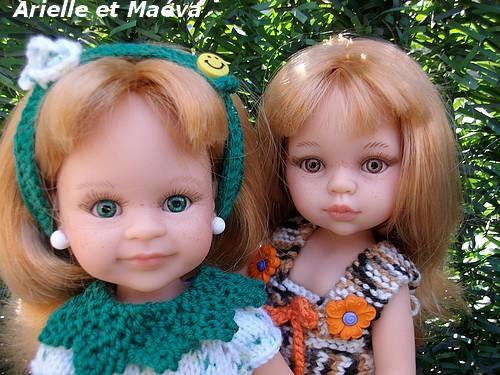 Arielle et ses yeux verts...