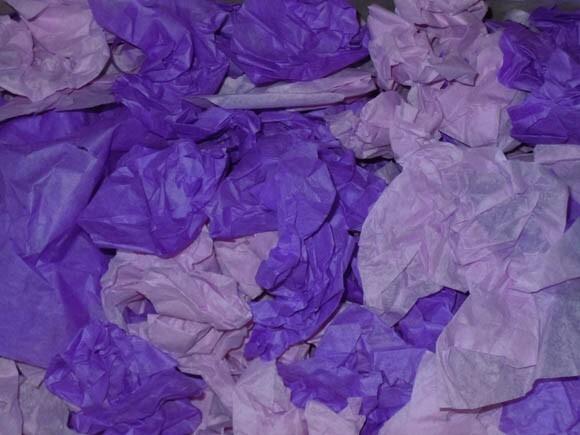 Couleurs violettes