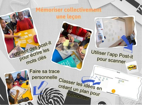 Mémoriser collectivement en classe: technique