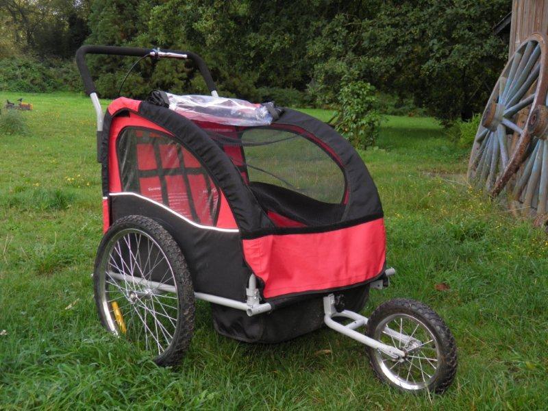 Poussette ou carriole pour vélo - 2 enfants