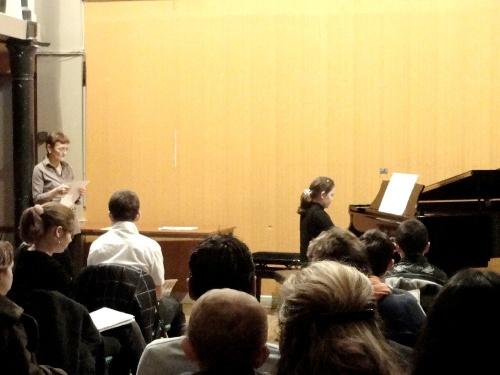 Auditions 2012 à l'Ecole Municipale de Musique de Châtillon sur Seine ..