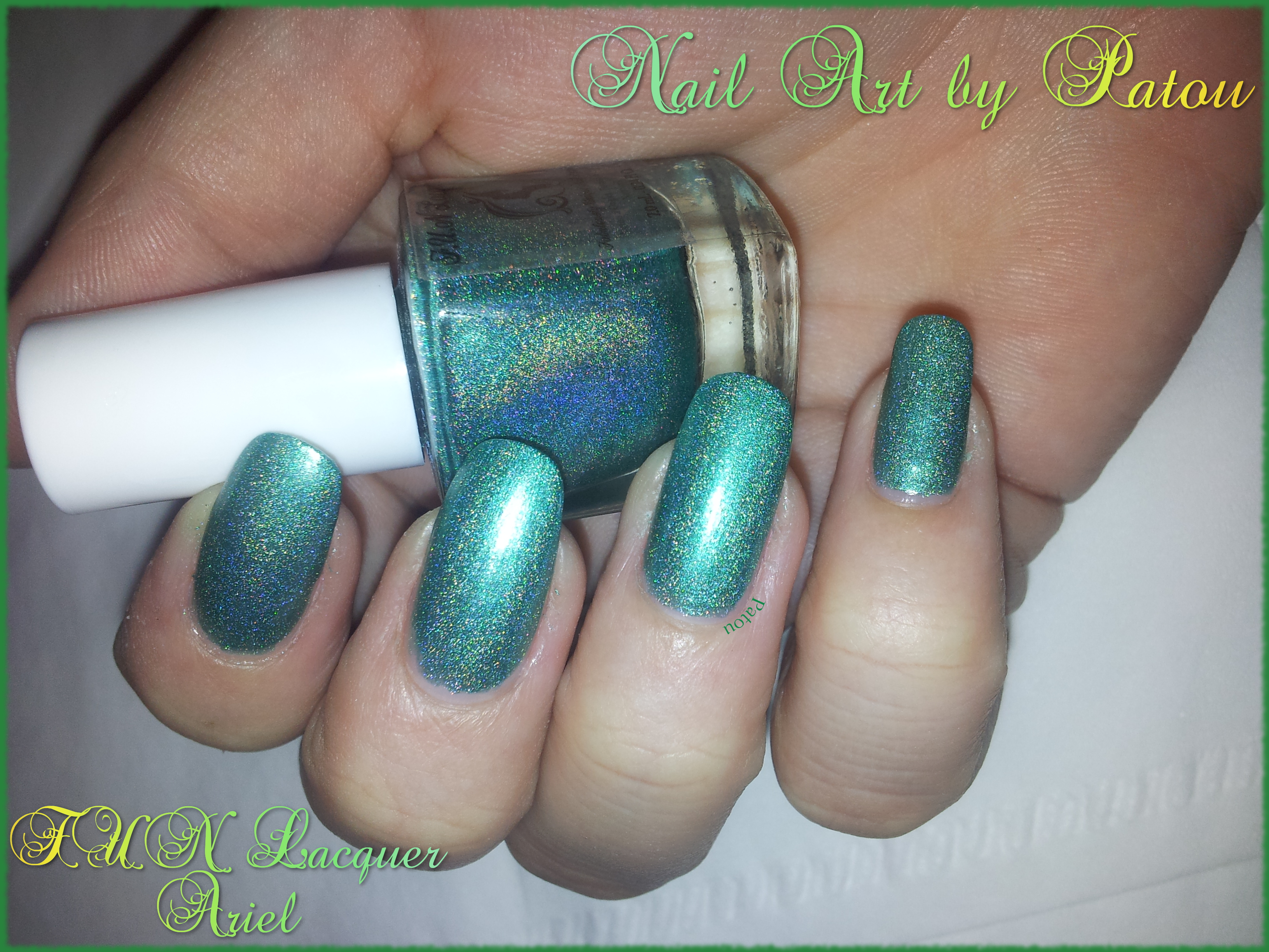 FUN Lacquer - Ariel (Princess Collection)