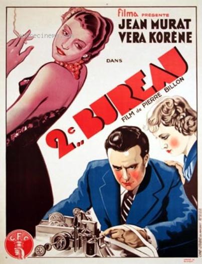 """Box-office France 1935 (estimations) - De """"Le contrôleur des wagons-lits"""" à """"Deuxième bureau"""""""