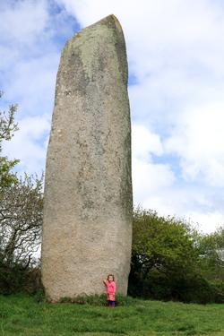 Le menhir de Kerloas