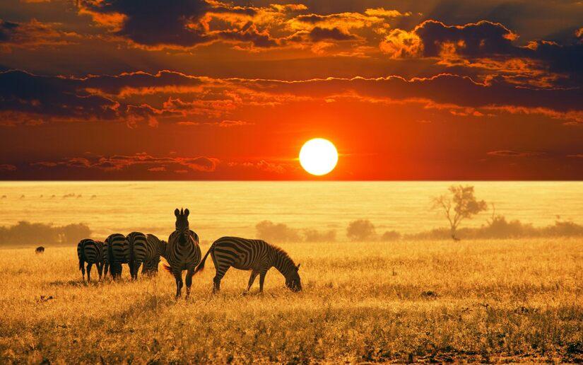 5 images de coucher de soleil