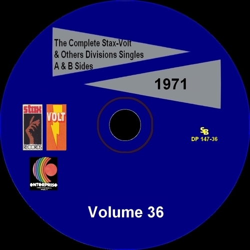 """ The Complete Stax-Volt Singles A & B Sides Vol. 36 Stax & Volt Records & Others Divisions "" SB Records DP 147-36 [ FR ]"