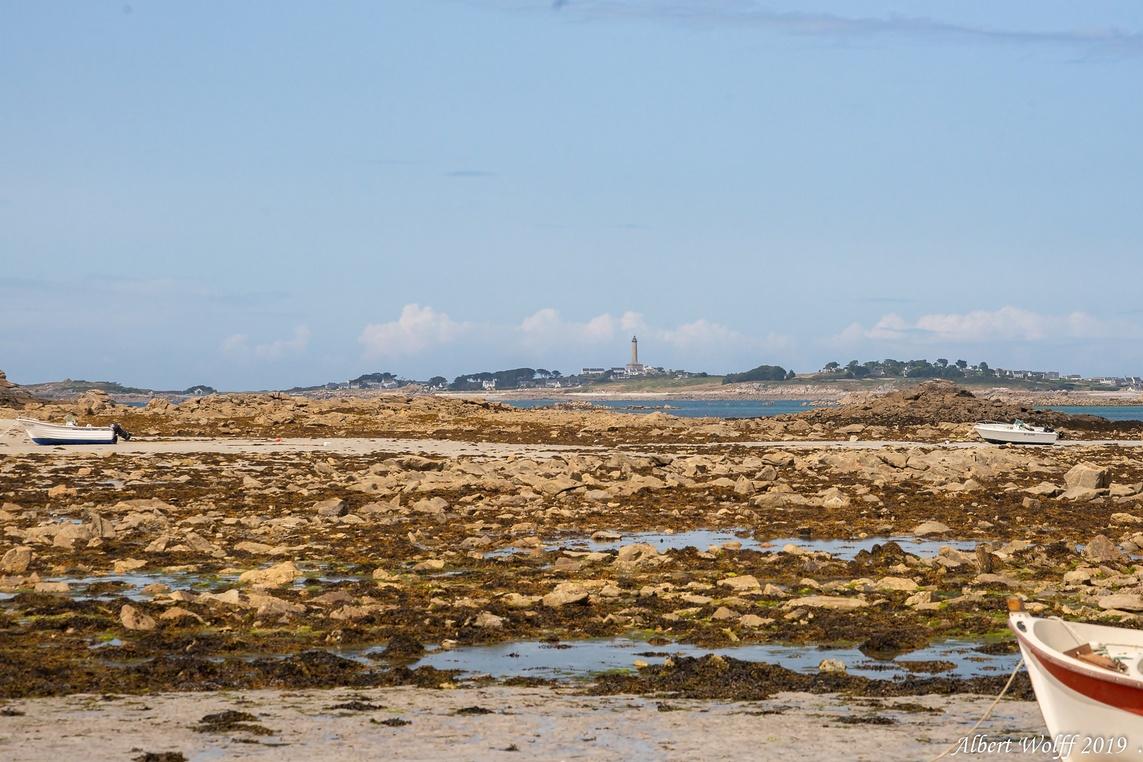 Santec : Une plage bretonne - sans dec?