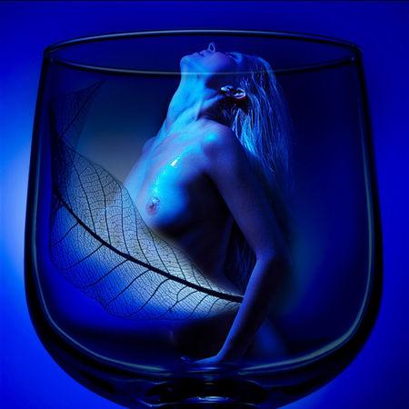 Sensuellement bleu