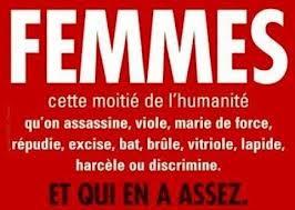 LA FEMME EST L'EGALE DE L'HOMME!