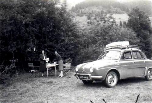 Le pique nique  et la voiture