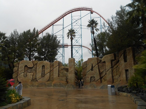 Jour 7 - Six Flags Magic Mountain (ou pas...)