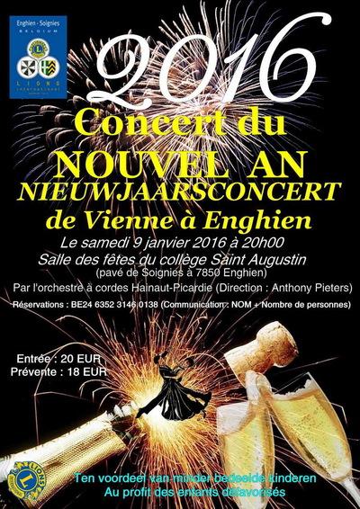 Concert du Nouvel An - 9 janvier 2016