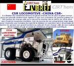 CSR LOCOMOTIVE -CHINA CSR-