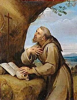 Saint François d'Assises (stigmatisé)