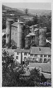 Coupiac Chateau et Presbytere 194X