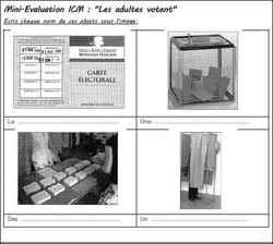 Mini évaluations ICM CE1