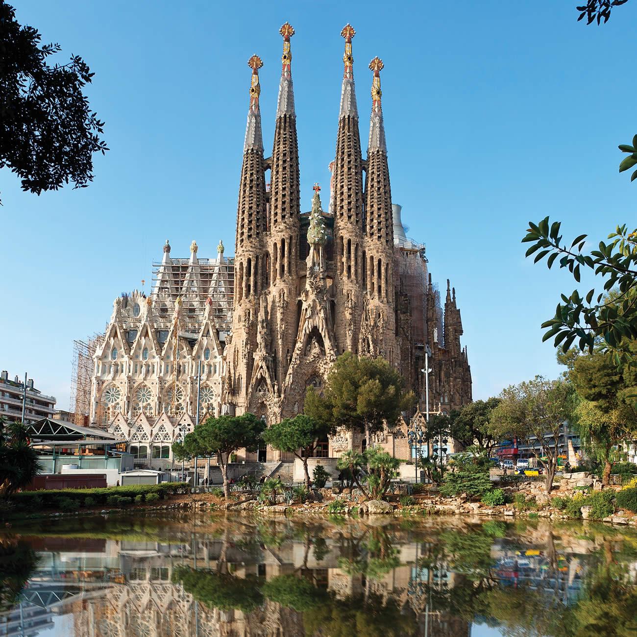 La sagrada familia a barcelone les voyages de sylvain - La botigueta barcelona ...
