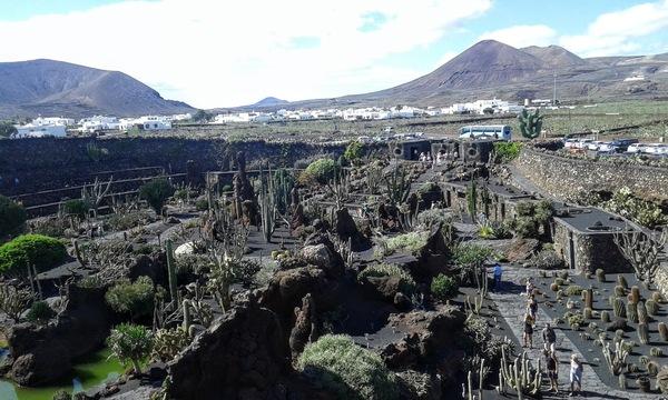 Le Jardin de cactus créé par César Manrique à Lanzarote