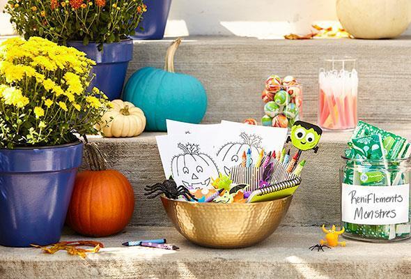 Sept gâteries d'Halloween qui ne sont pas des bonbons!