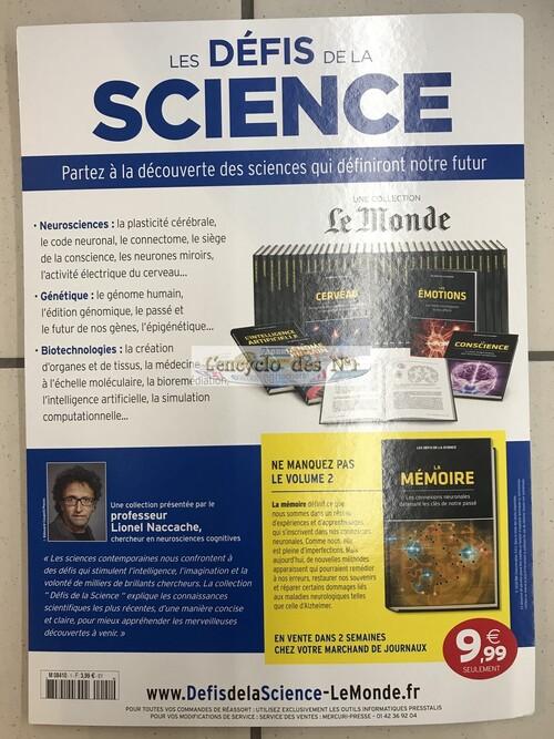 N° 1 Les défis de la science - Lancement
