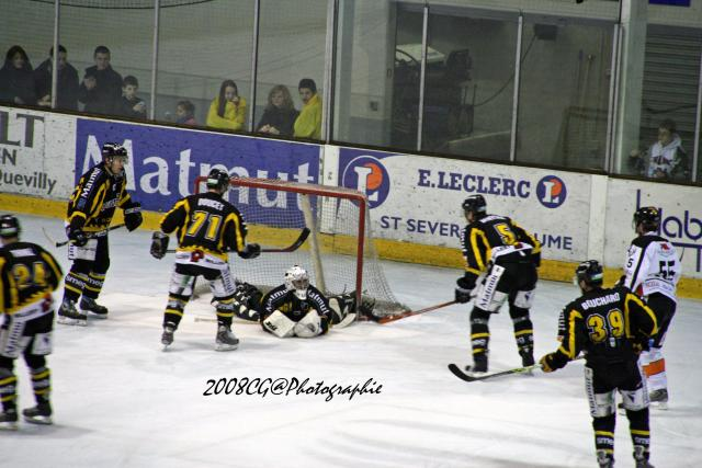 Match de hockey Rouen - Tours