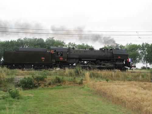 Train vapeur 14 juillet 2010