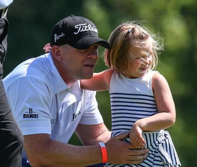 Famille Tindal au golf