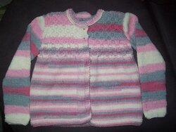 Ensemble fille au tricot