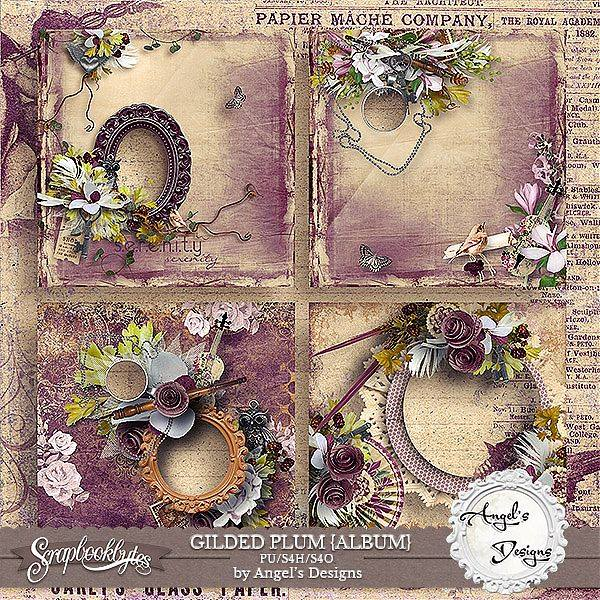 Gilded Plum by Angel's Designs
