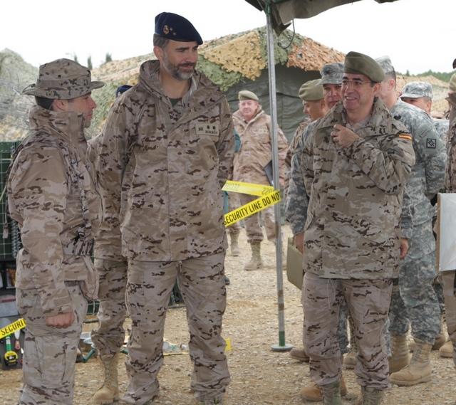 Felipe à l'armée