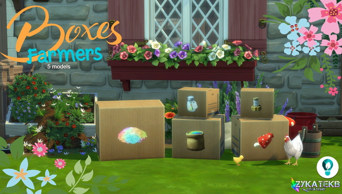 Boxes Farmers